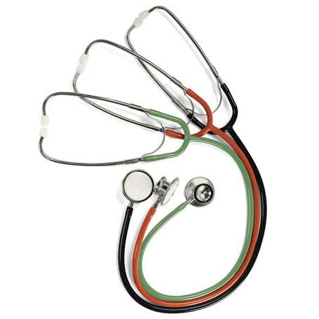 Lightweight Double-Head Stethoscopes