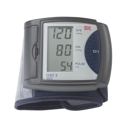 7052-40: OSZ 3 Digital Blood Pressure System, Auto Wrist Inflation