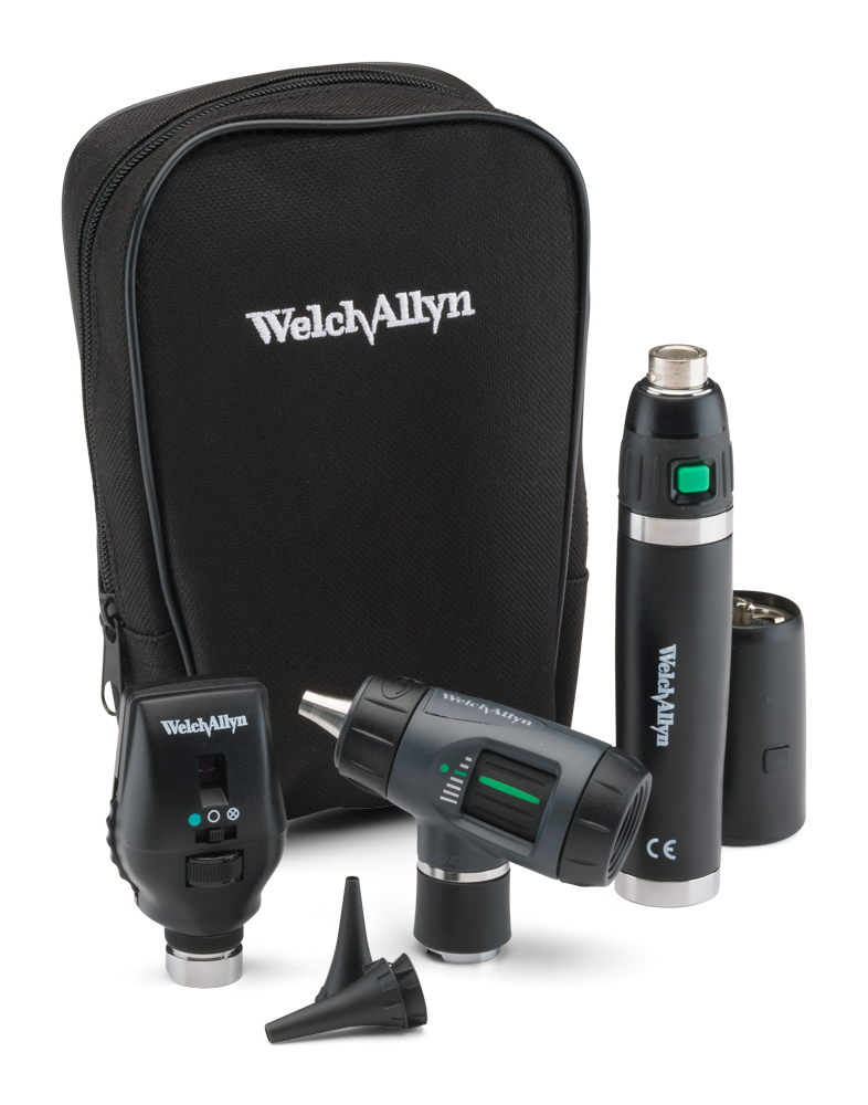Welch Allyn 3.5 V SureColor LED Diagnostic Set including Coaxial Ophthalmoscope